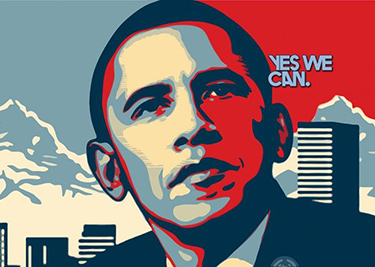 Cas n 33 obama 2008 for Bett yes we can